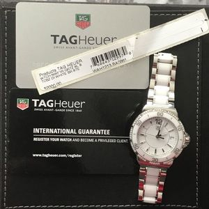 Authentic Tag Heuer formula 1 watch with diamonds!